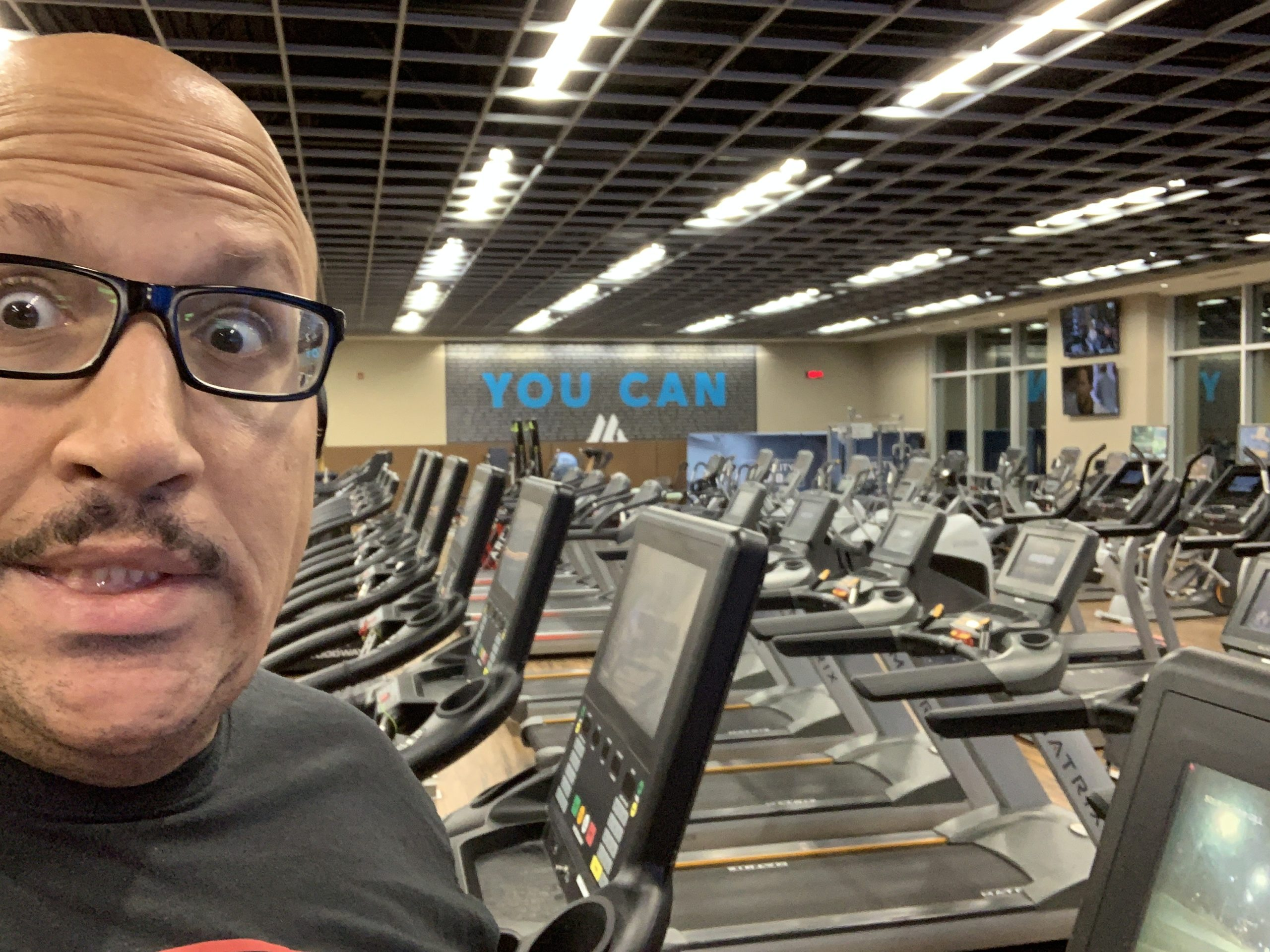 Me and an empty gym